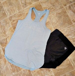 Reebok Tank top and Shorts Set L